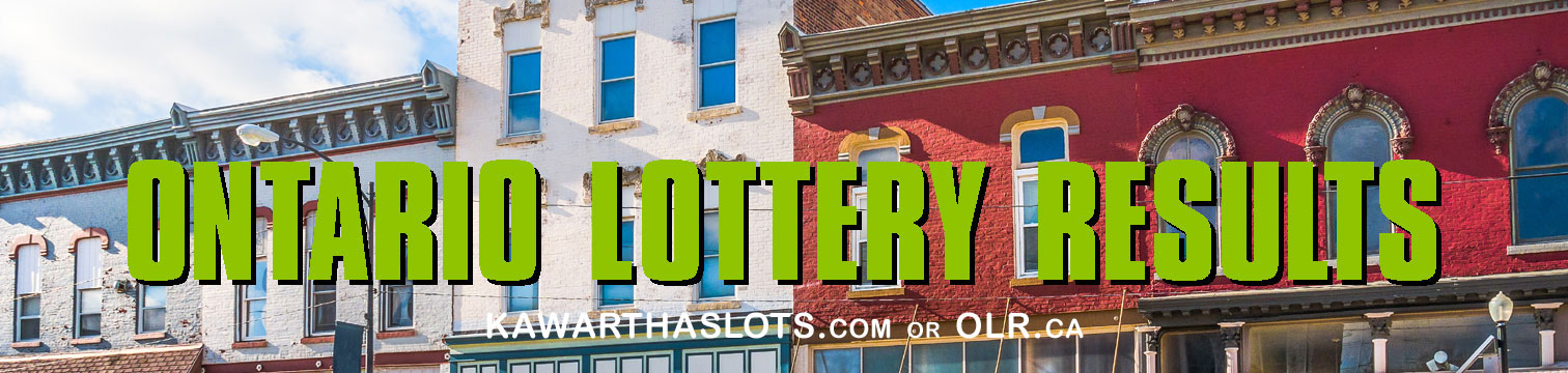 Lotto 6 and 7 lottery results from a max of 49 numbers at OLR, online lottery results